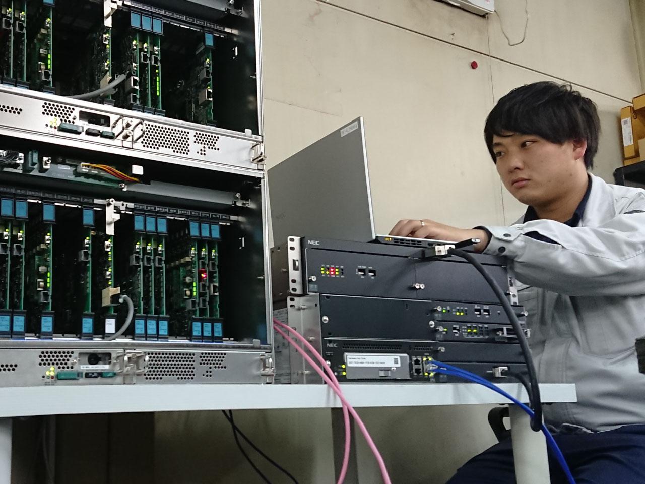 情報通信工事の仕事